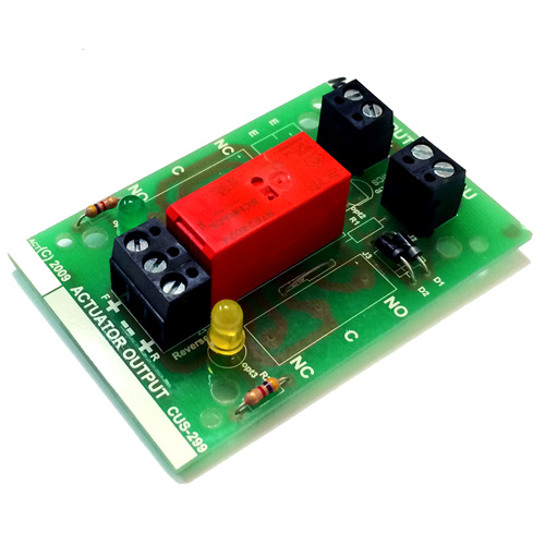 REL-009 3 wire actuator relay