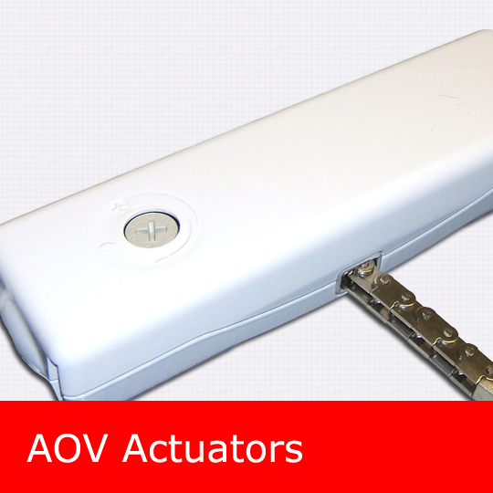 AOV actuators window vent openers