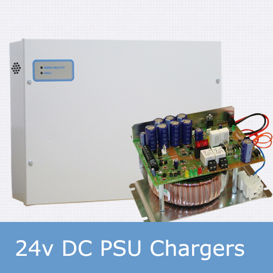 24v dc psu chargers